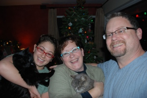 Merry Christmas from our house to yours, the ASPCA and Pearl Vision