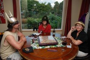 Scrabble hats
